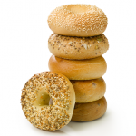 Weekday afternoons, 25% off bagels & toppings